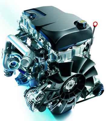 Двигатель Iveco F1A, Двигатель